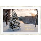 Holiday Expressions® Holiday Cards; At First Light, Self-Seal Envelopes
