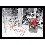 Holiday Expressions®, Friendly Welcome Holiday Cards With Gummed Envelopes