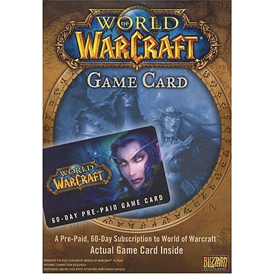World Of Warcraft Prepaid Timecard for PC, License, 1 User