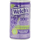 Welchs Grape Fruit Juice, 5.5 oz., 48/Pack