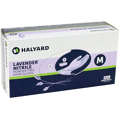 Halyard (formerly Kimberly-Clark) Lavender Nitrile Powder-Free Exam Glove; Small
