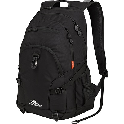 High Sierra Loop Backpack, Black/Charcoal/Ash