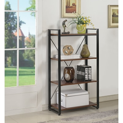 Quill Brand® Axis Bookcase, Cherry Finish