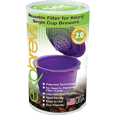 Ekobrew Reusable Filter for Keurig® 2.0 and 1.0 Single Cup Brewers