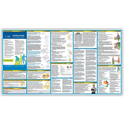 ComplyRight™ Safety Posters; All-In-One Safety Poster