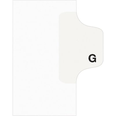 Avery® Individual Legal Dividers Avery® Style 1407, Letter Size, Tab G