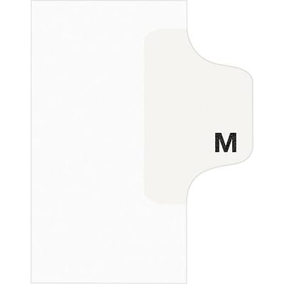 Avery® Individual Legal Dividers Avery® Style 1413, Letter Size, Tab M