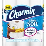 Charmin® Ultra Soft™ Bathroom Tissue, 12 Mega Rolls