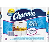 Charmin® Ultra Soft™ Bathroom Tissue, 18 Mega Rolls