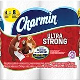 Charmin Ultra Strong Toilet Paper, 2-Ply, 154 Sheets/Roll, 48 Double Rolls/Carton (94106)
