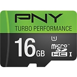PNY 16GB Turbo MicroSDXC CL10 90MB/s Flash Memory Card