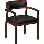 basyx® by HON VL850 Series Wood Guest Chair, Bourbon Cherry