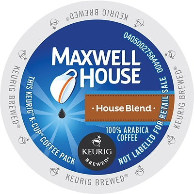 Maxwell House House Blend Coffee K Cup Pods, 24 Count