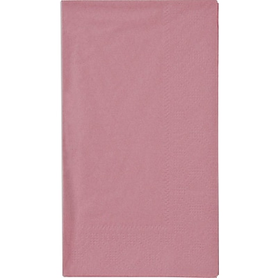 Hoffmaster Dinner Napkins; Dusty Rose