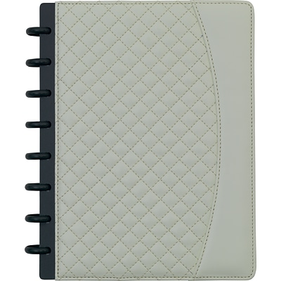 Arc System Customizable Quilted PU Leather Notebook System, Assorted, 6-1/2 x 8-1/2, Each (50062)
