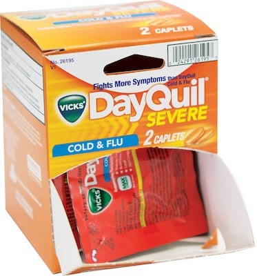Dayquil Mini  Replacement for Handy Solutions Medicine Cabinet, Two 12ct. Dispensers  (26352)