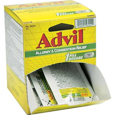 Advil Allergy Replacement for Handy Solutions Medicine Cabinet, Two 12ct. Dispensers (26355) | Quill.com