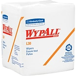 Wypall* L30 Wipers, Multi-Purpose Wipes, White, 12 Packs/Case, 90 Sheets/Pack (05812)