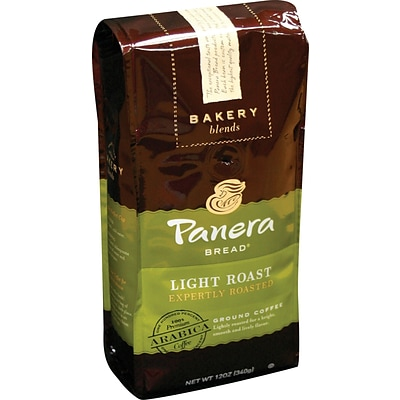 Panera Ground Coffee, Light Roast, 12 oz. Bag