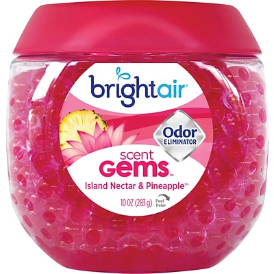 Bright Air® Scent Gems™ Odor Eliminator, Island Nectar and Pineapple, 10 oz.