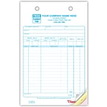 Auto Supply Register Form; 3-Part
