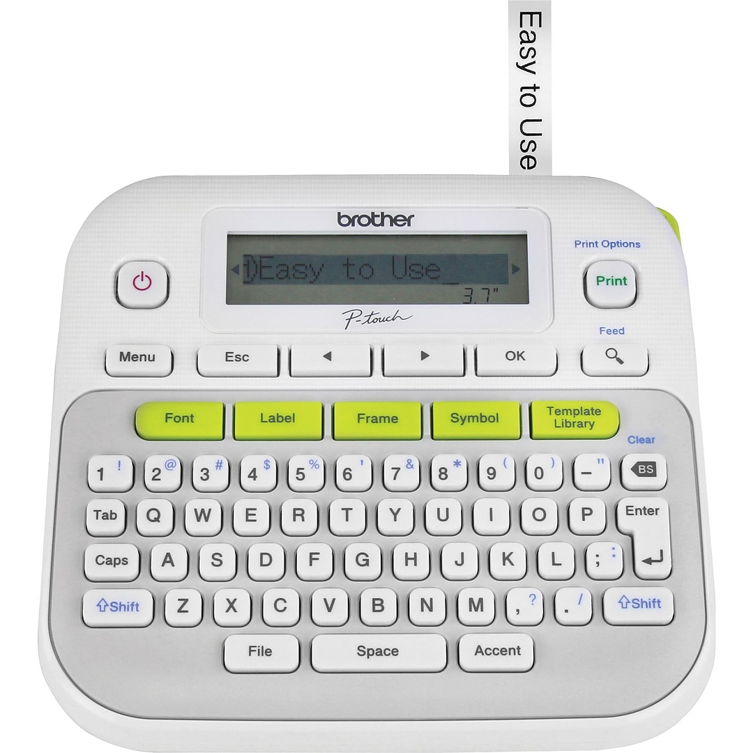 Brother P-Touch PT-D210 Label Maker | Quill.com
