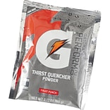 Gatorade® 1 qt Yield Powder Dry Mix Energy Drink, 2.12 oz Pack, Fruit Punch