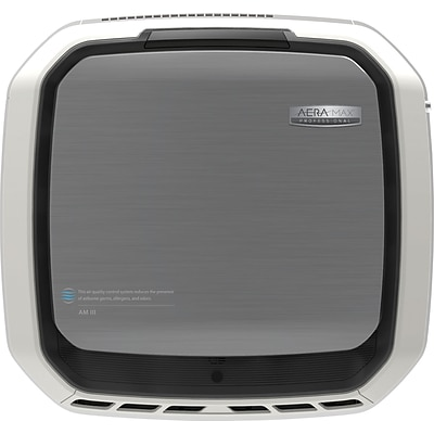 Fellowes® AeraMax™ Pro III, True HEPA Air Purifier, Wall Mountable, Stainless Steel (9416201)