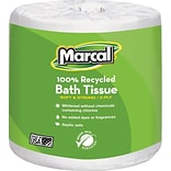 Marcal Recycled Bath Tissue, 2-Ply, 80 Rolls