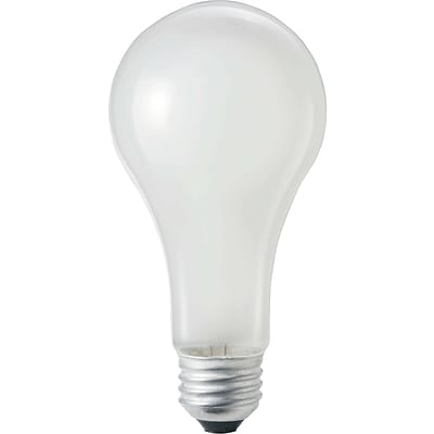 Philips 150W Incandescent Light Bulb, A21, 48/Pack (270033CT)