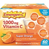 Emergen-C, 1,000 Mg Vitamin C, Super Orange