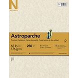 Neenah® 65lb Astroparche Natural Card Stock