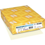 Neenah Paper Classic Crest® 8 1/2 x 11 24 lbs. Smooth Writing Paper, Natural White, 500/Ream