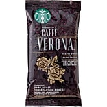 Starbucks® Caffe Verona® Ground Coffee, Regular, 2.5 oz., 18 Packets