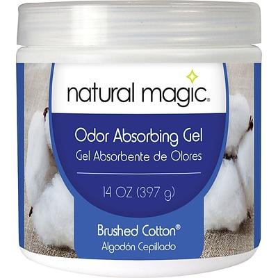 Natural Magic® Odor Absorbing Gel, Brushed Cotton