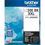 Brother Genuine LC20EBK Black Super High Yield Original Ink Cartridge