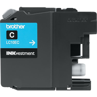 Brother Genuine INKvestment LC10EC Cyan Super High Yield Original Ink Cartridge