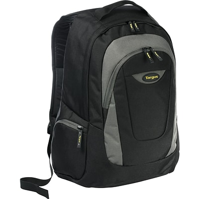 Targus 16 Trek Laptop Backpack, Black/Gray (TSB193US)