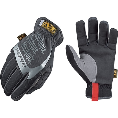 Mechanix Wear® FastFit® High Dexterity Gloves, Spandex/Synthetic, Elastic, Large, Black