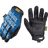 Blue Spandex/Synthetic High Dexterity Gloves
