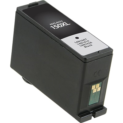 Quill Brand Remanufactured Lexmark 150XL Ink Black High Yield (100% Satisfaction Guaranteed)