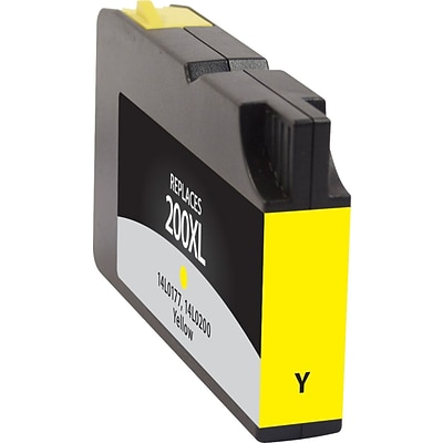 Quill Brand Remanufactured Lexmark 200XL Ink Yellow High Yield (100% Satisfaction Guaranteed)