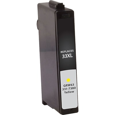 Quill Brand Remanufactured Dell Series 33XL High Yield Ink Yellow (100% Satisfaction Guaranteed)