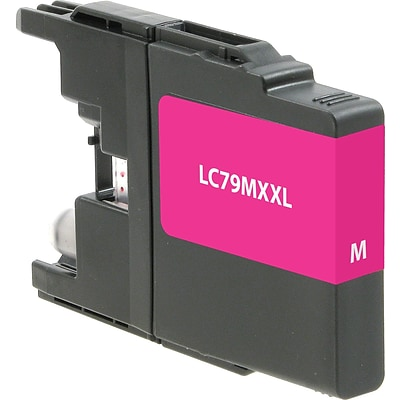Quill Brand Remanufactured Brother LC79XXL Super High Yield Ink Magenta (100% Satisfaction Guaranteed)