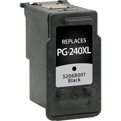 Quill Brand Remanufactured Canon PG-240XL High Yield Ink Black (100% Satisfaction Guaranteed)