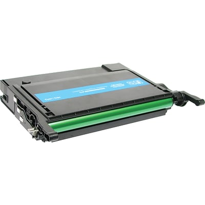 Quill Brand Remanufactured Samsung CLP-660 Toner Cyan, High Yield (100% Satisfaction Guaranteed)