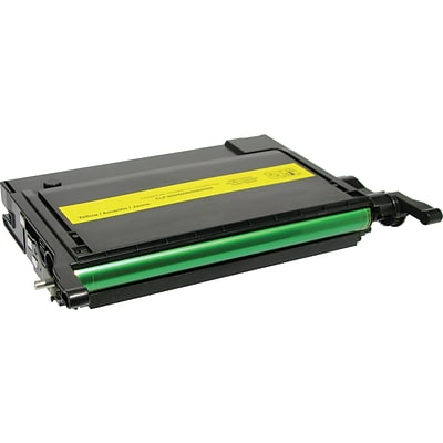 Quill Brand Remanufactured Samsung CLP-660 Toner Yellow (100% Satisfaction Guaranteed)