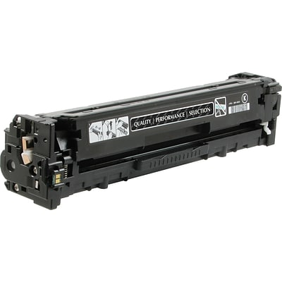 Quill Brand Remanufactured HP 131A Black Standard Laser Toner Cartridge  (CF210A) (100% Satisfaction Guaranteed)