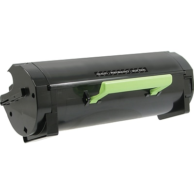 Quill Brand Remanufactured Lexmark MS410 Toner Extra High Yield (100% Satisfaction Guaranteed)