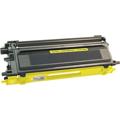 Quill Brand® Brother TN115  Remanufactured Yellow Toner Cartridge, High Yield (TN115Y) (Lifetime Warranty)